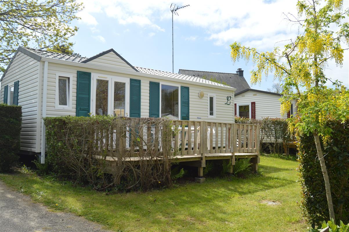 Location mobil home sarzeau camping domaine de kersial - Residence port saint jacques la bernerie en retz ...
